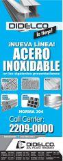 new line ACERO INOXIDABLE promociones - 06abr15