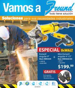 ofertas herramientas electricas Especial DeWALT abril 2015