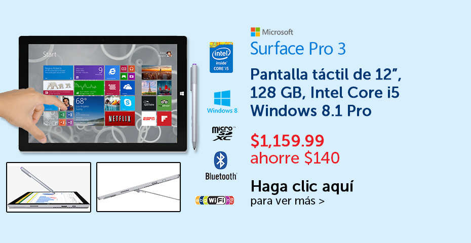 pricesmart el salvador OFERTA Microsoft surface Pro 3