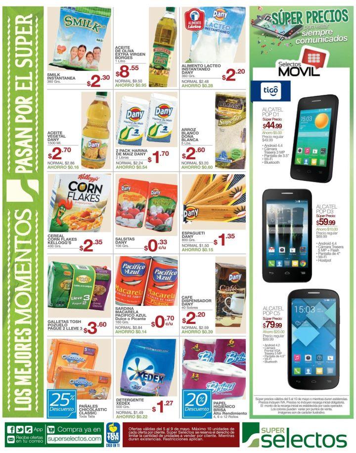 AHORRO para tu hogar en el supermercado hoy - 05may15