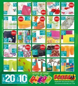 Accesorios para el hogar y cocina BOMBA almacenes mayo 2015