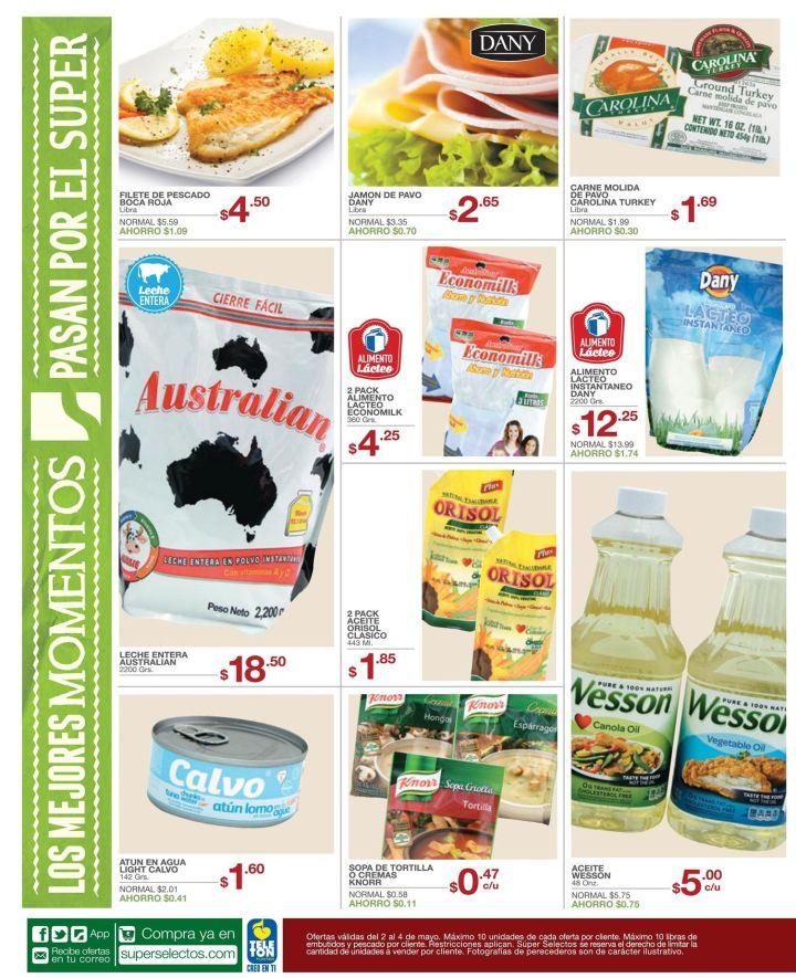 Ahorro y calidad en tus tiendas de suspermercao - 02may15