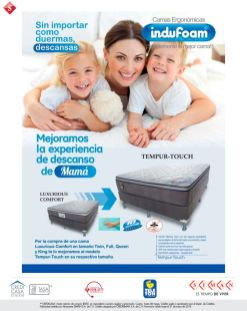 BED sleep technology Luxurious Comfort TEMPER TOUCH