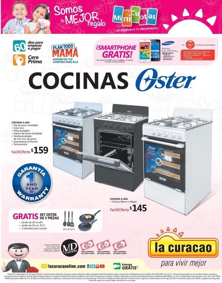 COCINAS OSTER una gran ofertas y producto - 09may15