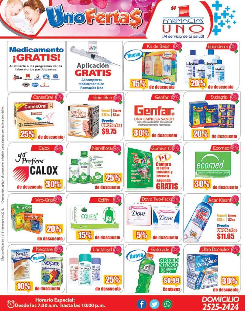 FARMACIA UNO Servicio a domicilio en medicamentos y productos varios