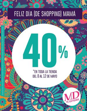 Feliz dia de shopping mama MD calzado - 08may15