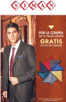 Gratis un Pocket Square para Papá via SIMAN - 29may15