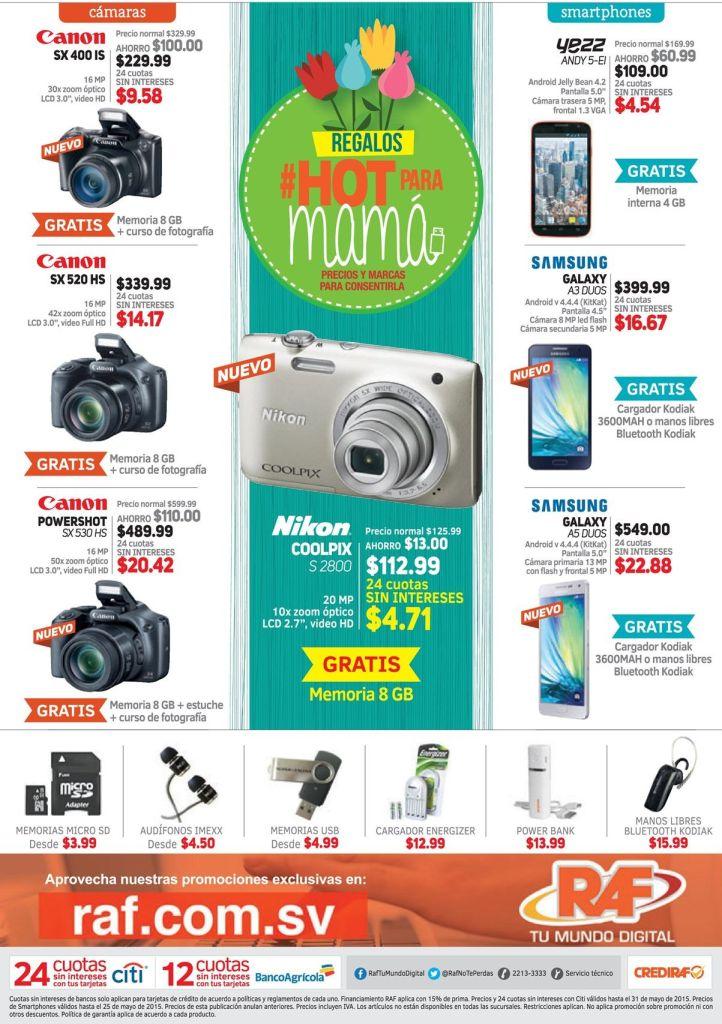 HOT gifts for MOM solo RAF mundo digital - 15may15