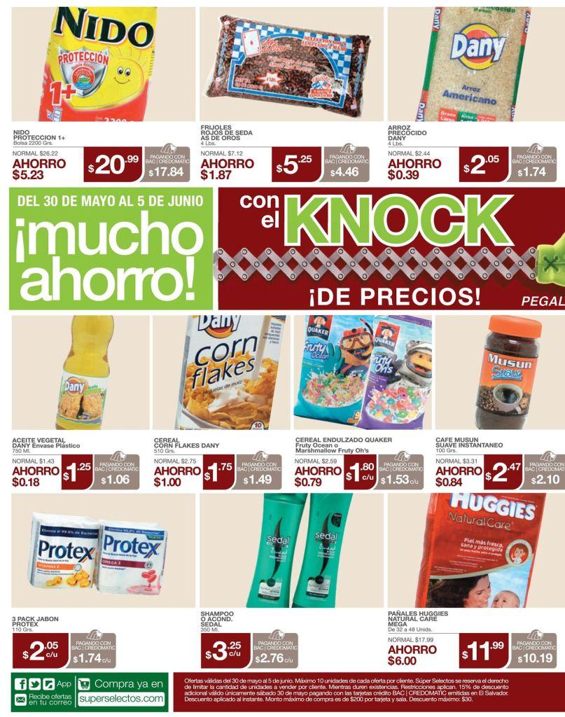Knockout de precios bajos en tu supermercado - 30may15