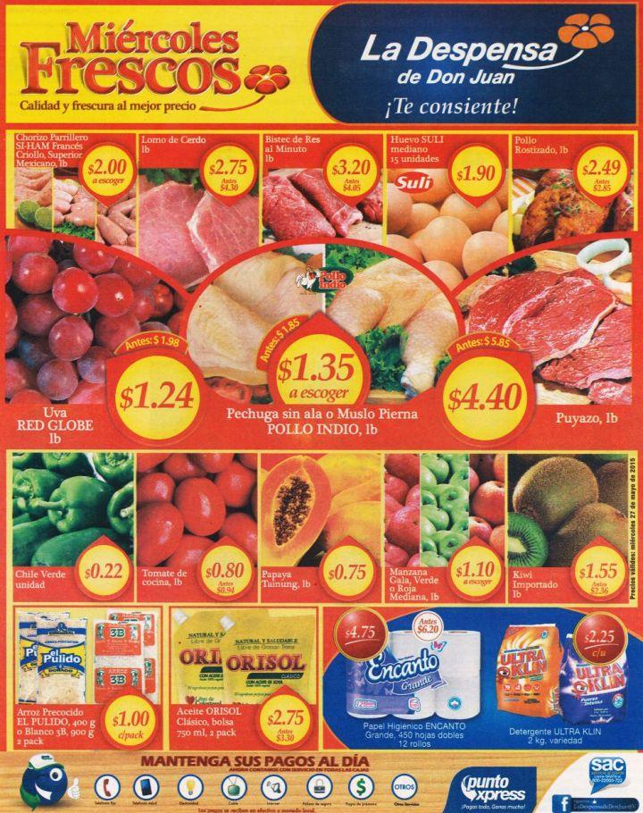 Los mejores productos con el mejor servicio al cliente SUPERMERCADO - 26may15