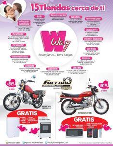 MOTOS freom con promociones WAY - 15may15