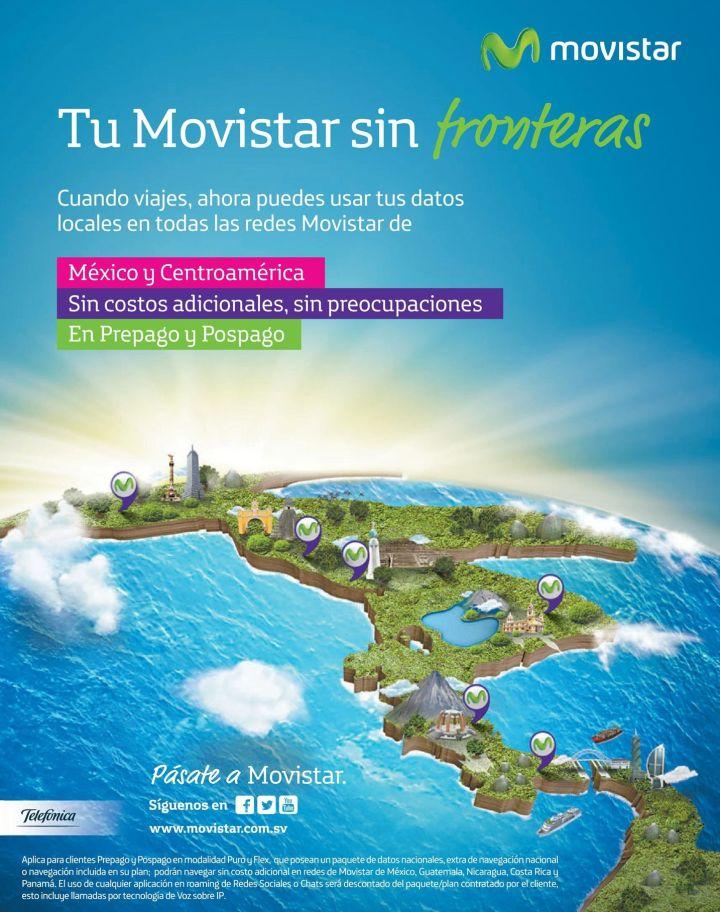 MOVISTAR planes de datos con uso y accesibilidad regional