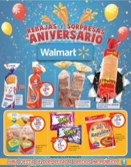 PAN blanco integral RAPIDITAS galletas ofertas WALMART finde - 16may15