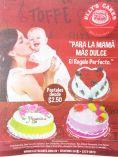Pasteles ELSYS CAKE elsalvador para la mama mas dulce