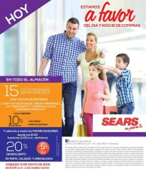 SHOPPING time for all family SEARS promotions - 02may15