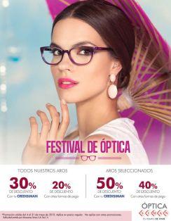 SIMAN Festival de optica tu oportunidad de cambiar lentes nuevos - 15may15