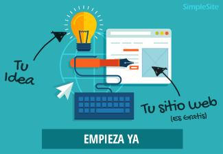 SIMPLESITE tu idea para tu sitio web