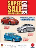 SUPER SALE suzuki sobre ruedas CELERIO SWIFT Sx4 sedan