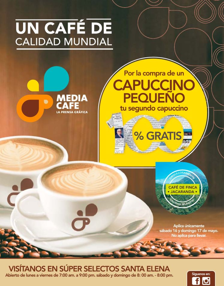 Segudo Cafe undial de calidad mundial GRATIS - 16may15
