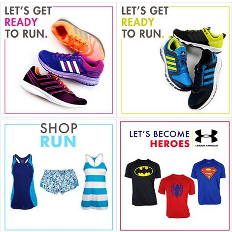 Sporty outfit SIMAN promotions apparel