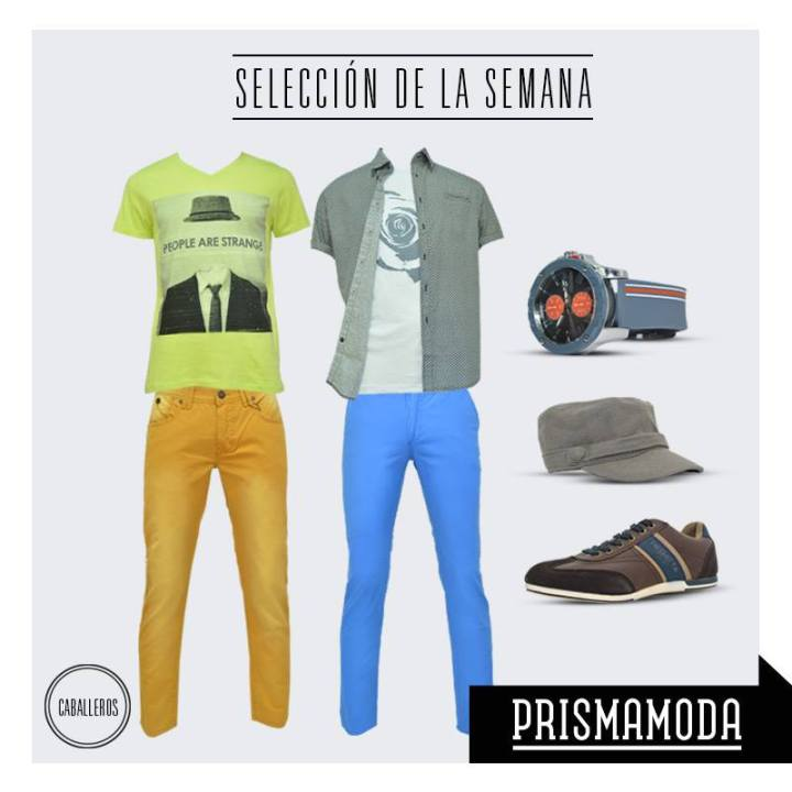 TREND look urbano and alternative prendas coloridas con estampados