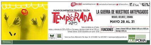 Temporada 2015 TEATRO luis poma