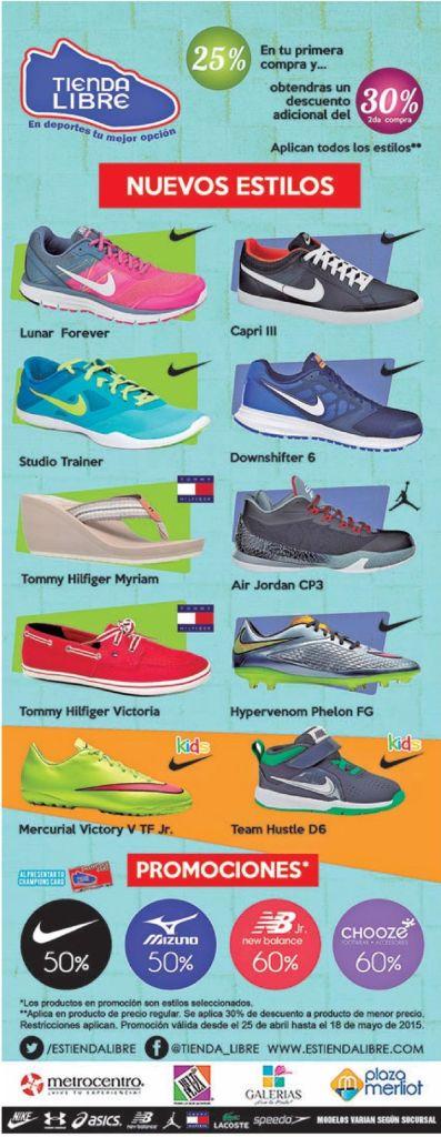 Tienda LIBRE Promociones articulos y zapatillas deportivas