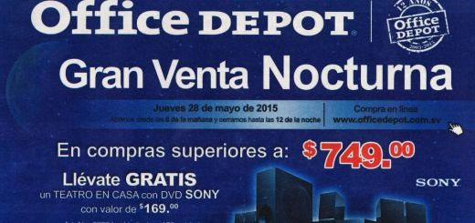 Today night sale office depot - 28may15