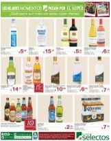 brindemos con vino cerveza ron vodka OFERTAS selectos - 16may15