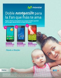 doble navegacion en internet para la FAN number one MOtHER DAY