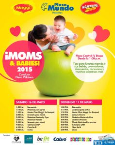 este finde MOMS and babies 2015 eventos Plaza Mundo