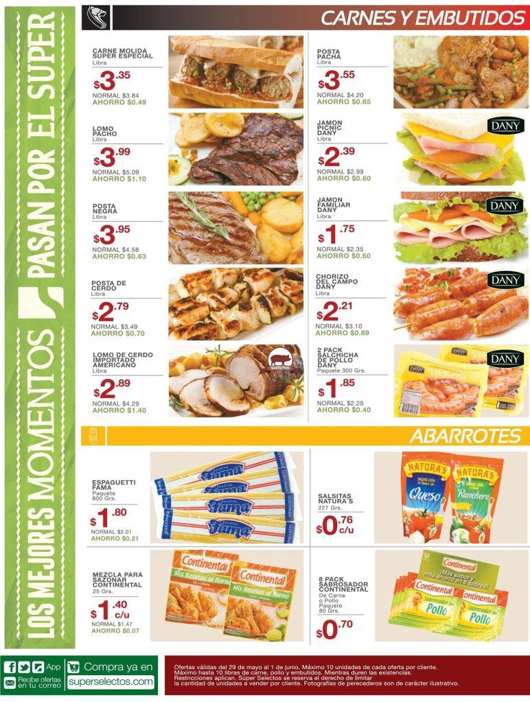 las mejores ofertas diarias en selectos supermercado - 29may15