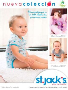 new collection for BABIES DISNEY baby by St jacks