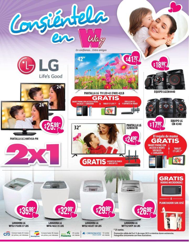precios bajos en eletromesticos solo en agencias way - 09may15