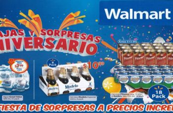 rebajas y sorpresas en aniversario 2015 walmart