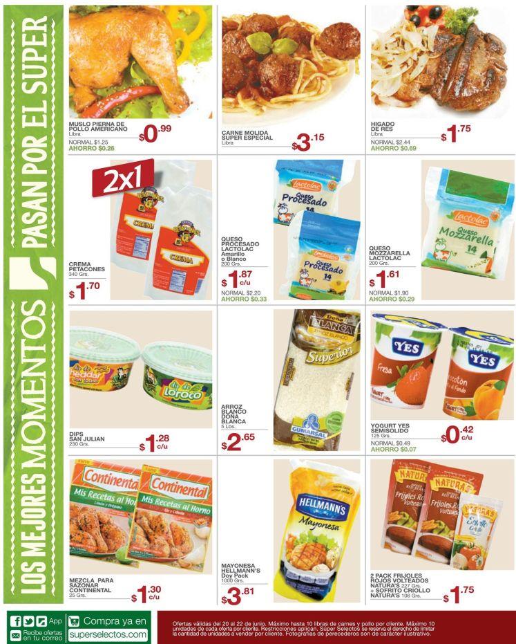 Cocinar es mas delicioso con las promociones del selectos- 20jun15
