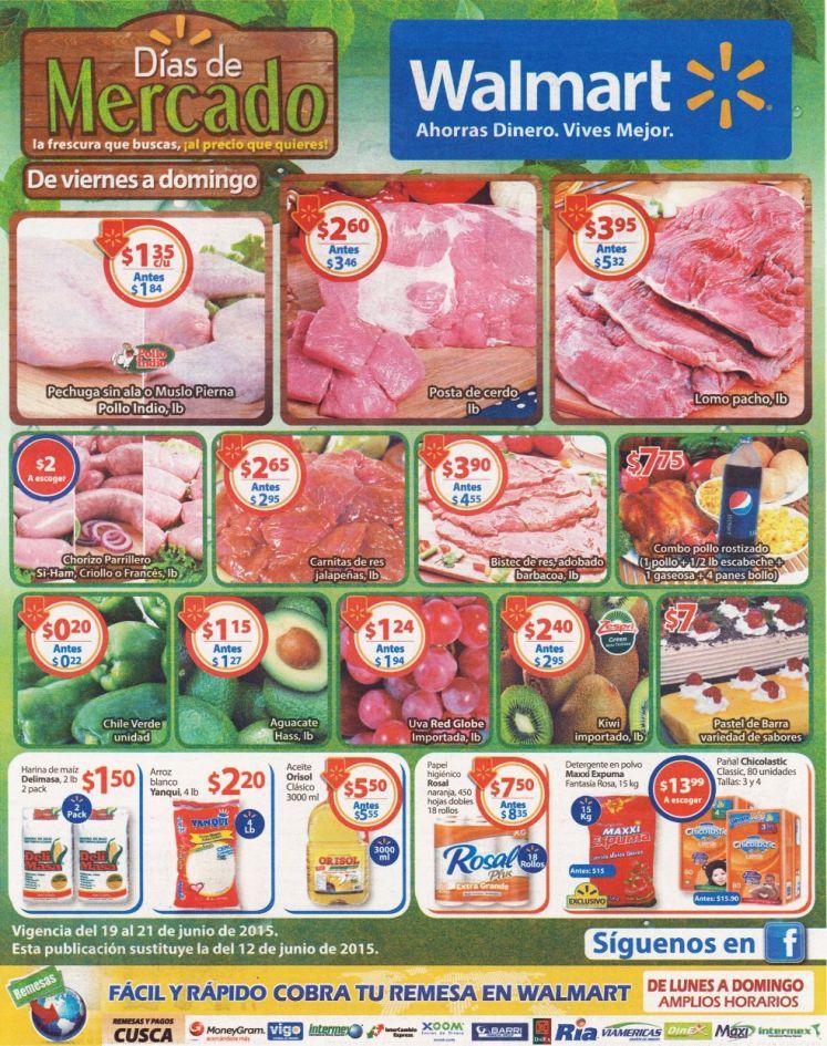 Facil y Rapido compras ofertas del mercado en WALMART - 19jun15