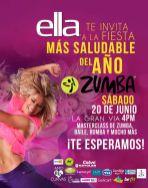 Fiesta de ZUMBA 2015 la gran via CLUB ELLA