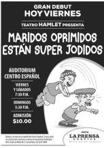 HOY gran debut MARIDOS oprimidos estan bien JODIDOS - 05jun15