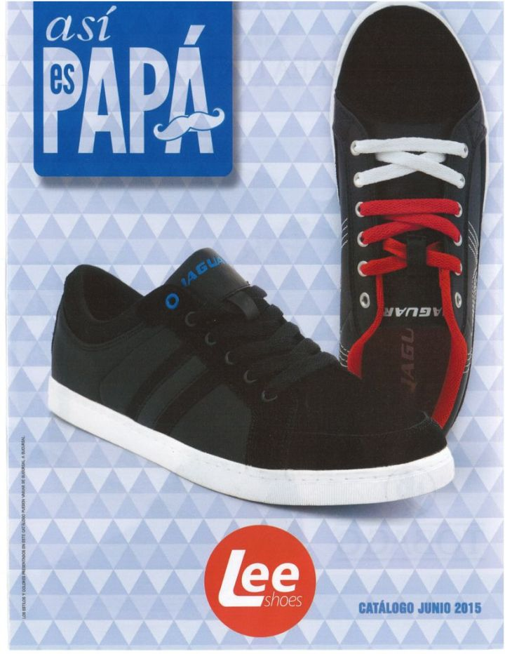 LEE shoes Asi ES PAPA catalogo Junio 2015