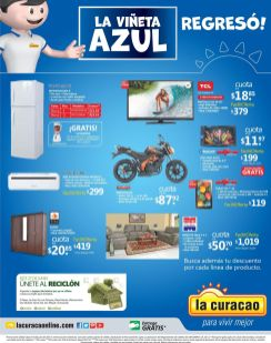 La curacao Unete a las ofertas de la VINETA AZUL- 26jun15