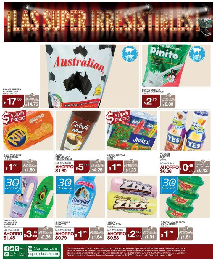 Las ofertas super irressitibles de super selectos - 15jun15