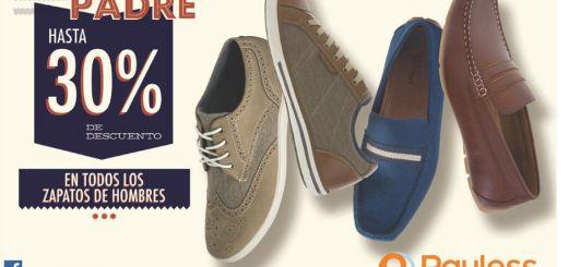 Oferta del dia del padre 30 OFF en todos los zapatos de hombre - 12jun15