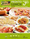 Olive garden ITALIAN restaurant PRONTO LUNCH - 16jun15