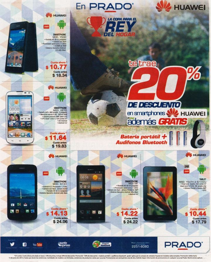 PRADO ofertas ANDROID smartphones best GIFT for your DAD