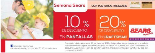 Semana SEARS para PAPA en estos departamentos - 16jun15