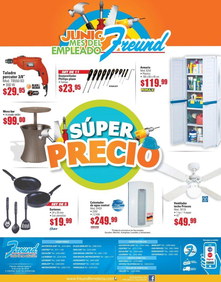 Super precio en articulos del hogar en FREUND - 01jun15