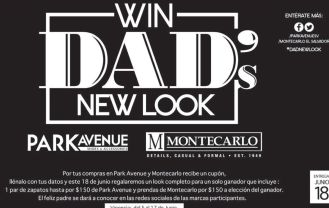 Win DAD new look PARK AVENUE store fashion