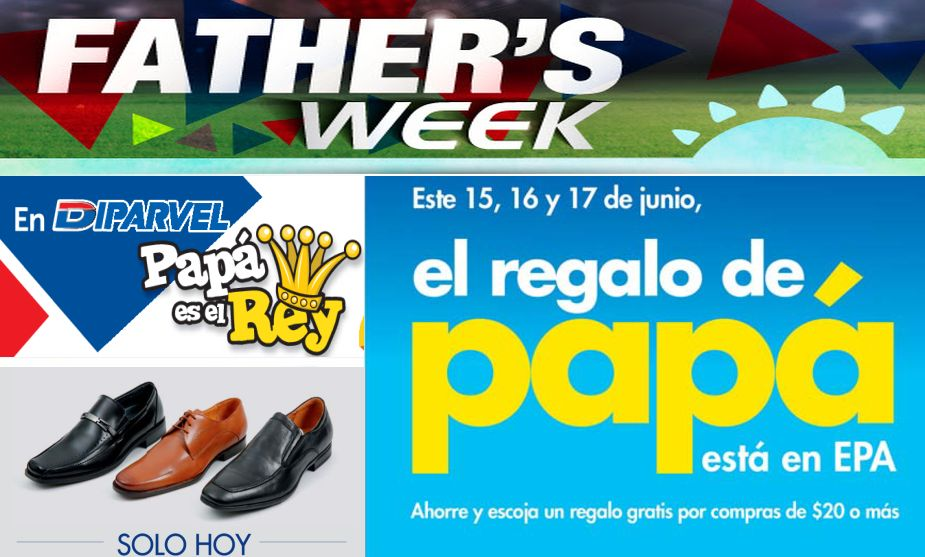 fathers week Descuentos dia del padre 2015