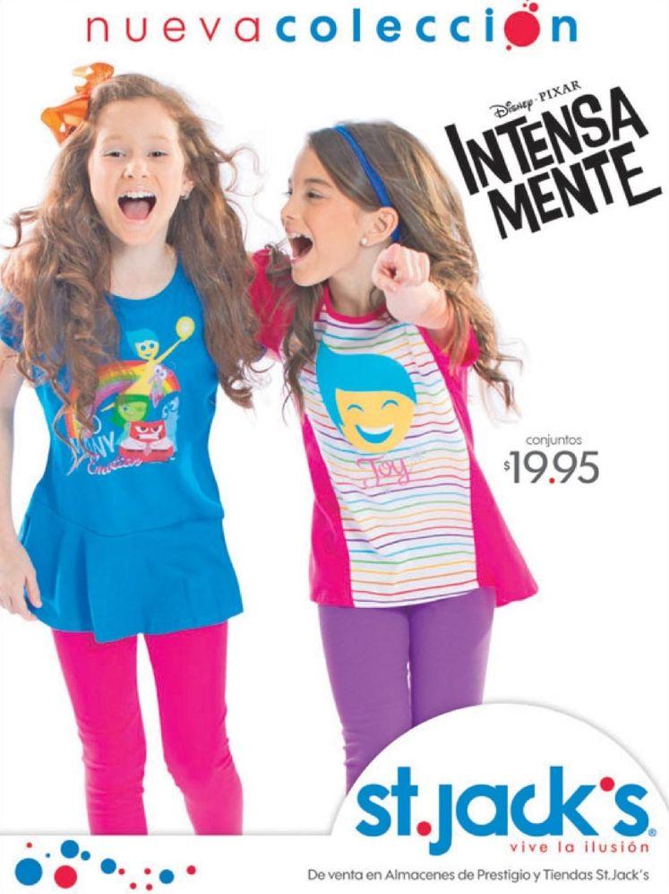 new collection KIDS wear INTENSA mente disney pixar